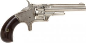 50561: Smith & Wesson Model 1 Third Issue Tip Up Pocket