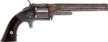 50562: Smith & Wesson No. 2 Army Spur Trigger Revolver.