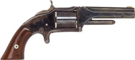 50570: Smith & Wesson No.2 Old Model Revolver.