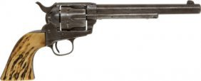 Colt Single Action Revolver With Unique Serial N