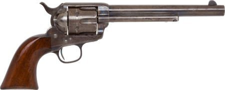 50577: Scarce Etched Panel Colt Frontier Six-Shooter Si