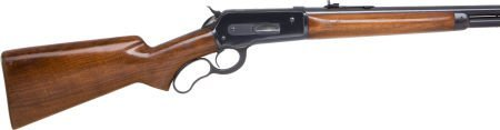50683: Winchester Model 71 Lever Action Rifle.
