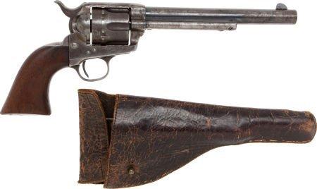 50581: U.S.Cavalry Colt Single-Action Revolver with Per