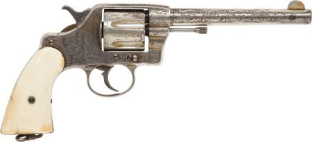 50700: Engraved Colt Model 1892 Double Action Revolver