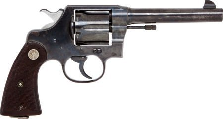 50702: Colt New Service Double Action Revolver with Hol