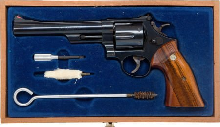 50708: Cased Smith & Wesson Model 29-2 Double Action Re