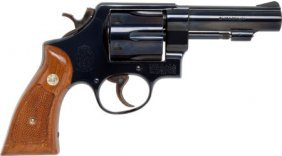"Rare ""Dummy"" Smith & Wesson Double Action Revolv"