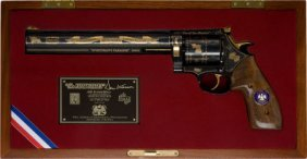 "Cased Dan Wesson ""Sportsman's Paradise"" Limited"