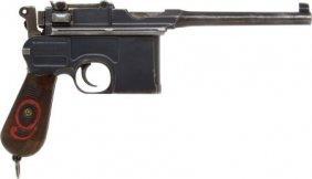 Mauser Model 96 Broomhandle Semi-Automatic Pisto
