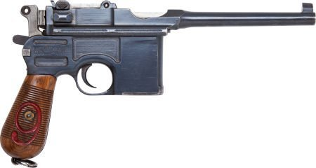 50720: Mauser Model 96 Military Contract Semi-Automatic