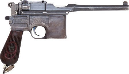 50721: Mauser Model 96 Military Contract Semi-Automatic