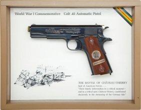 50780: Cased Colt Model 1911 WWI Commemorative Semi-Aut