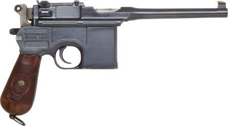 50722: Mauser Model 96 Military Contract Semi-Automatic