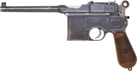 50727: Mauser Model 96 Large Ring Hammer Semi-Automatic