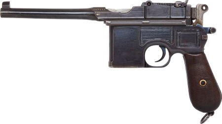 50734: Mauser Model 96 Wartime Commercial Semi-Automati