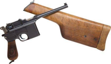 50735: Mauser Model 96 Military Contract Semi-Automatic