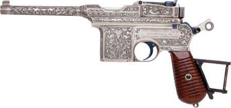 50736: Astra Model 900 Semi-Automatic Pistol.