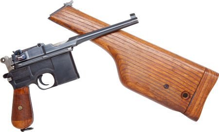 50737: Mauser Model 96 Commercial Semi-Automatic Pistol