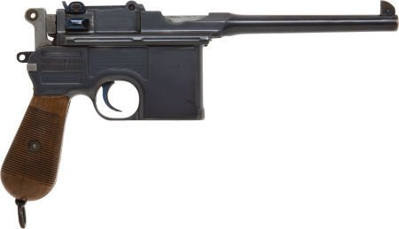 50738: Mauser Model 96 Commercial Semi-Automatic Pistol