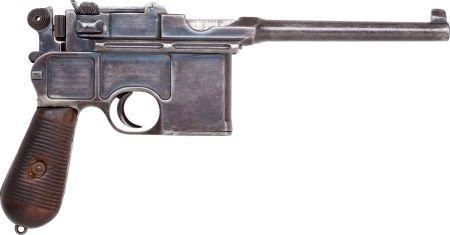 50739: Mauser Model 96 Cone Hammer Semi-Automatic Pisto