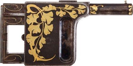 50744: French Gaulois Ladies'  Palm Pistol.