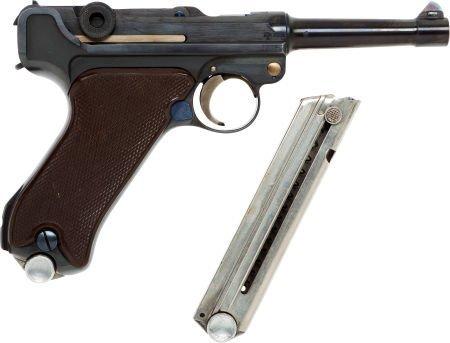 50750: Krieghoff Model P08 Luger Semi-Automatic Pistol