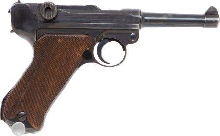 50751: German Model P08 Semi-Automatic S/42 Code Luger