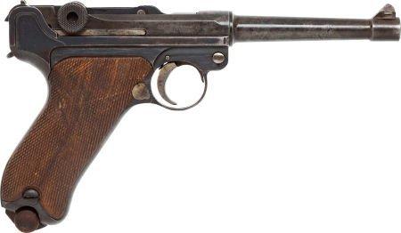 50752: German Model P08 American Eagle Semi-Automatic P