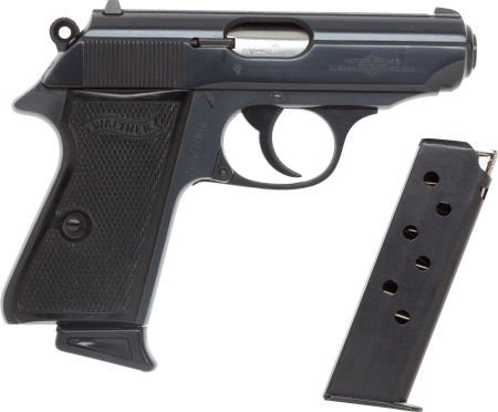 50753: Boxed Walther PPK/S Semi-Automatic Pistol by Int