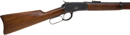 50659: Winchester Model 1892 Lever Action Saddle Ring C