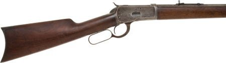 50666: Winchester Model 92 Lever Action Rifle.