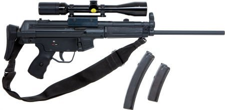 50820: Heckler & Koch HK 94 Semi-Automatic Rifle.