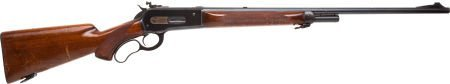 30023: Winchester Deluxe Model 71 Lever Action Rifle.