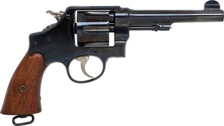 30030: Smith & Wesson Model 1917 Double Action Revolver
