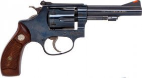 Smith & Wesson Model 34-1 Double Action Revolver
