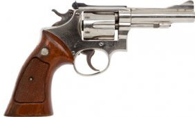 Smith & Wesson Double Action Revolver.