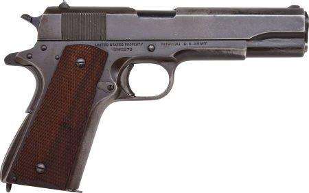 30043: U.S. Ithaca Model 1911-A1 Semi-Automatic Pistol.