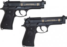 Lot Of Two (2) Beretta M9 Limited Edition 9mm Se