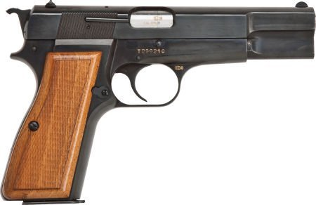 30048: Browning Hi-Power Semi-Automatic Pistol with Ext