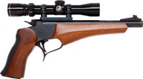 Thompson Center Arms Single Shot Target Pistol.