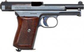 Mauser Model 1934 Semi-Automatic Pistol.