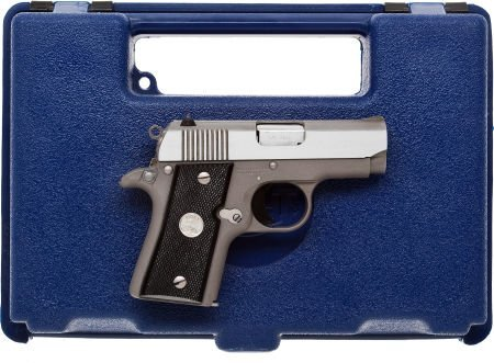 30058: Boxed Colt Mustang Semi-Automatic Pistol.