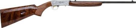 30068: Cased Belgian Browning Grade III Semi-Automatic