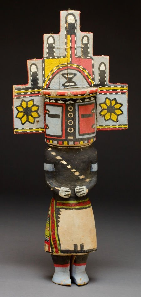 50024: A HOPI COTTONWOOD KACHINA DOLL c. 1930