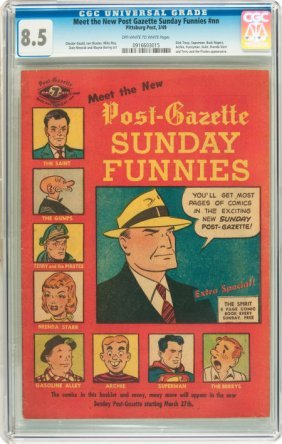 Meet The New Post-Gazette Sunday Funnies #nn (Pi