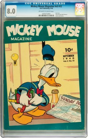 Mickey Mouse Magazine V5#12 (K. K. Publications/