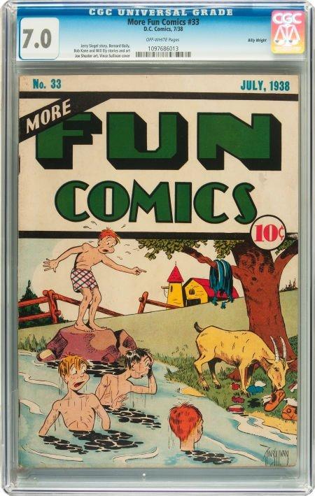 91172: More Fun Comics #33 Billy Wright pedigree (DC, 1