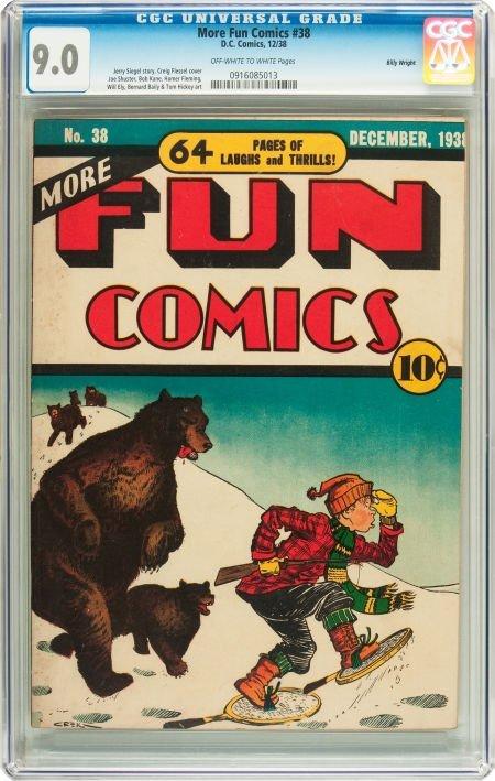 91173: More Fun Comics #38 Billy Wright pedigree (DC, 1