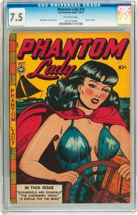 91185: Phantom Lady #14 (Fox Features Syndicate, 1947)