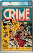 91101 Crime Does Not Pay 24 Lev Gleason 1942 CGC F